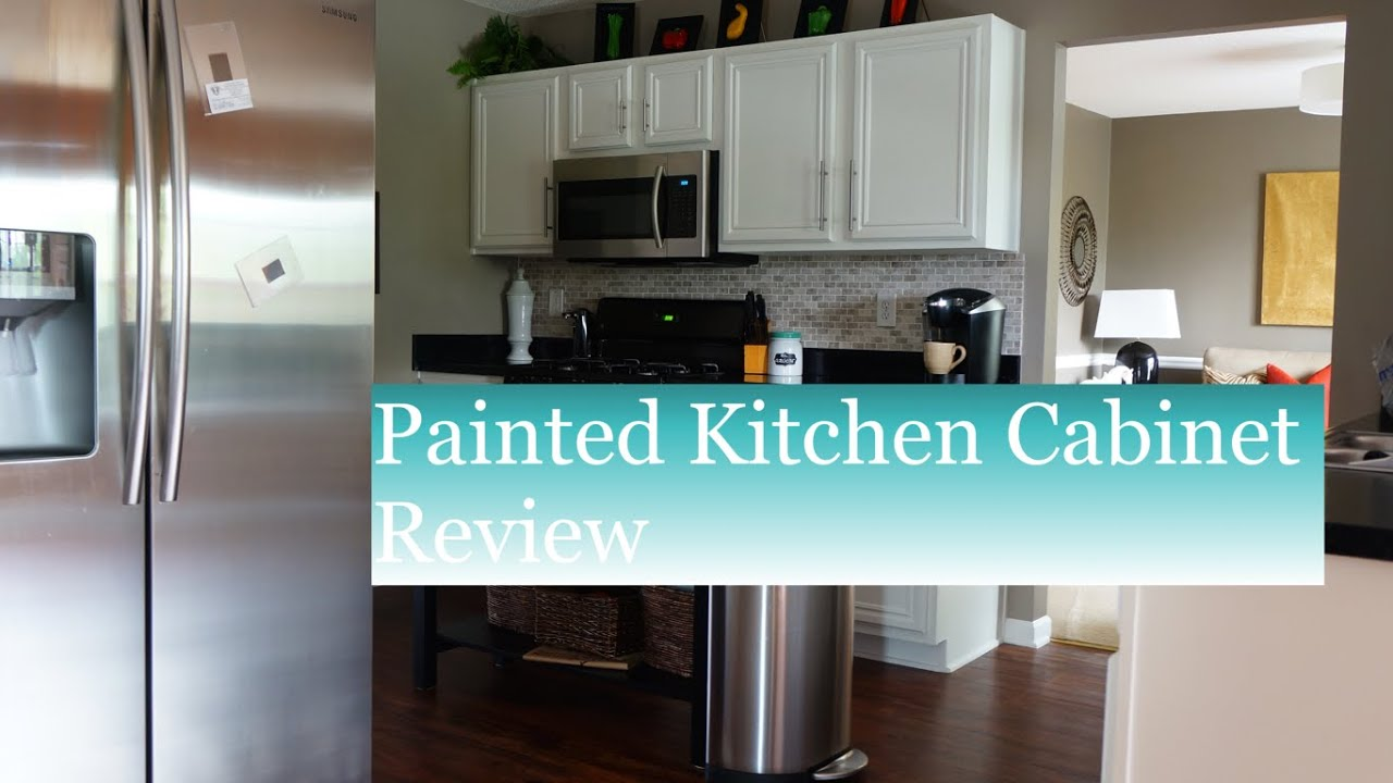 How to Paint Kitchen Cabinets: Review - A Must Watch - YouTube