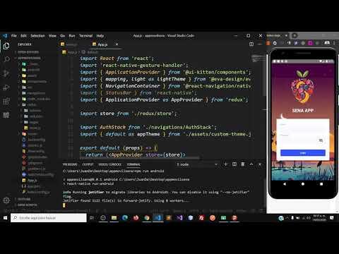 Configuración De Vistas Con Redux Y Realizar Acciones Con Firebase En React Native Parte 2