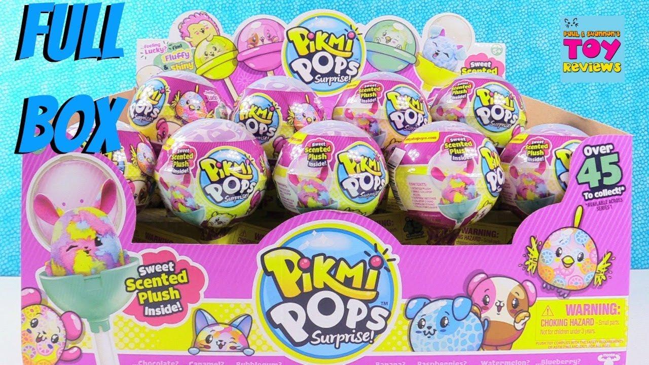 Giant Pikmi Pops Surprise Scented Plush Palooza Full Box
