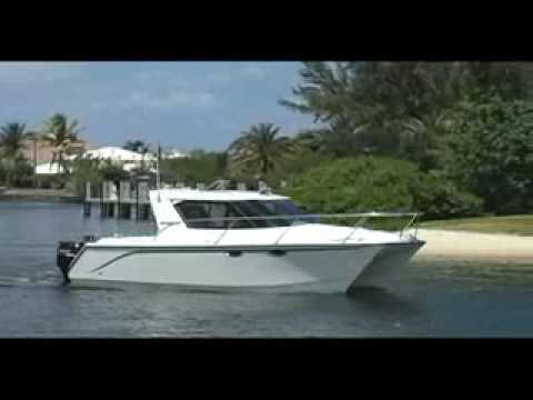 ArrowCat Power Catamaran - Boat Review - YouTube