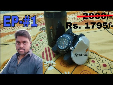 Unboxing Fastrack  Below 2000 Rs/- Navy Blue NK9334PP03_OR2  Full Review EP-#1