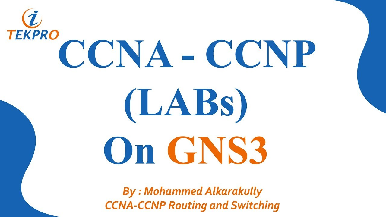 Prepare you computer For CCNA and CCNP LABs | How To Install GNS | Basic  With GNS3