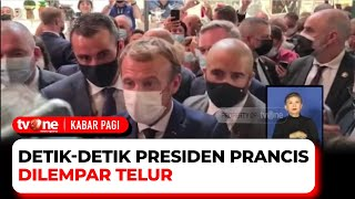 Waduh, Presiden Prancis Dilempar Telur Saat Pameran Tata Boga | Kabar Pagi tvOne