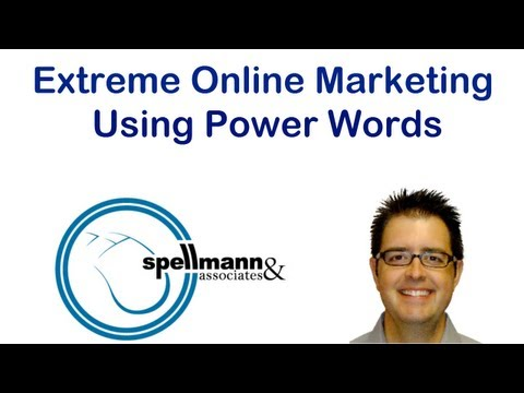 Extreme Online Marketing Using Power Words