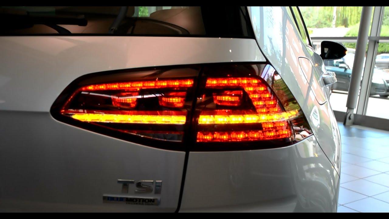 2014 original vw golf facelift led rear light tail lights. Black Bedroom Furniture Sets. Home Design Ideas