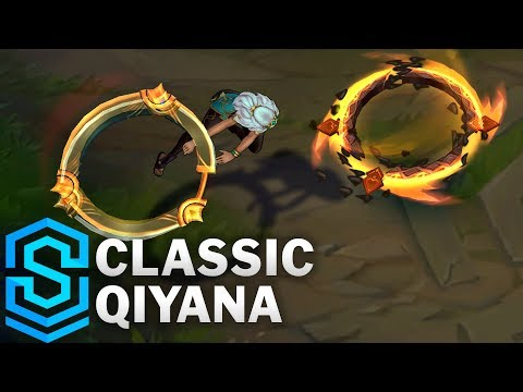 Classic Qiyana, the Empress of the Elements - Ability Preview - League of Legends