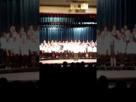 McNabb Middle School Winter Choral Concert Blue Choir Part 2