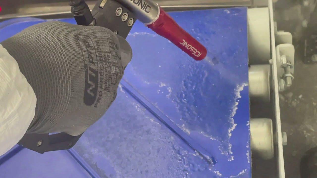 Nettoyage Cryogénique tapis caoutchouc