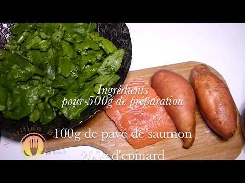 idée-de-repas-pour-bébé-[8-mois+]-|-patate-douce-saumon-et-epinard