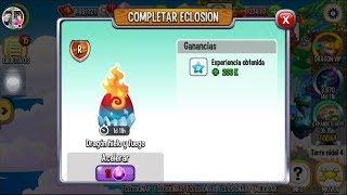 """Como obtener al dragón fuego y hielo """" futbolista"""" Fuego fresquito en DragonCity"""