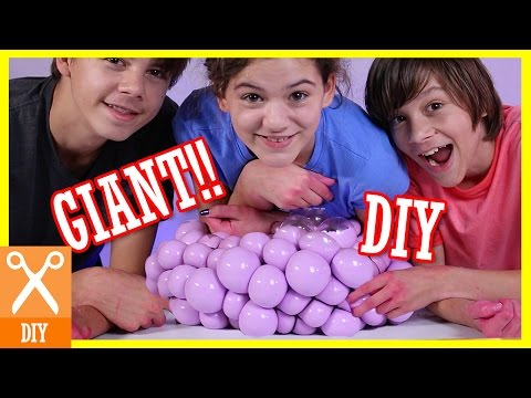 DIY GIANT SQUISHY STRESS BALL!!  |  KITTIESMAMA