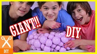 DIY GIANT SQUISHY SLIME STRESS BALL!! Bubble or Infectious disease stress ball! |  KITTIESMAMA