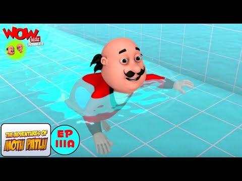 Hari Berenang - Motu Patlu dalam Bahasa - Animasi 3D Kartun