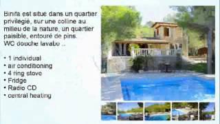 Acheter des hôtels et des appartements de luxe dans une villa espagne
