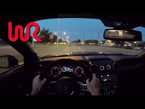2016 Ford Mustang Shelby GT350 - WR TV POV Night Drive