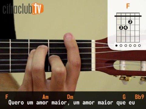 Amor Maior - Jota Quest (aula de violão completa)