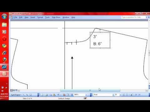 7 Pattern Making: How to Make a T Shirt Pattern- Drafting NeckBand ...