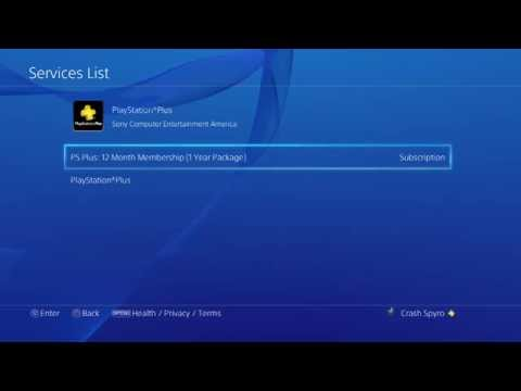 How to Disable Auto Renew for PlayStation Plus on PS4