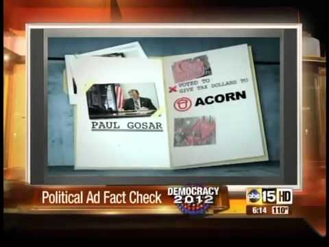PAC's releases attack ad on Rep. Paul Gosar