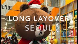 ICN Long Layover in Seoul: Namdaemun, Myeongdong, ICN Terminal 2 Amenities