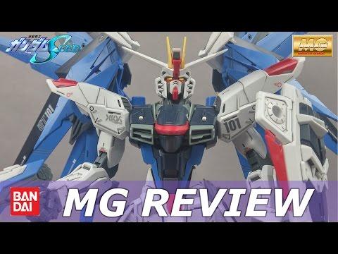MG Freedom Gundam 2.0 Review and Unboxing Gundam Seed Master Grade 1/100