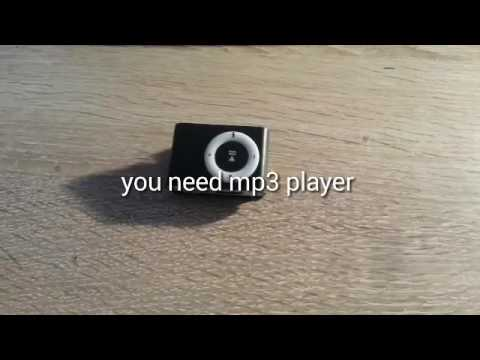 How to Make a speaker from mp3 Player