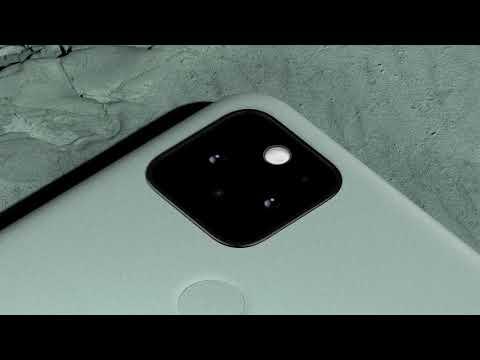 Google Pixel 5 design details