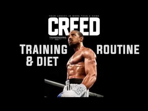 CREED training and diet routine Micheal B Jordan motivation tribute