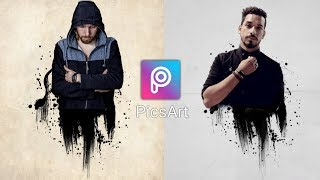 PicsArt Tutorial | Picsart Melted Effect | Picsart Editing Tutorial 2018