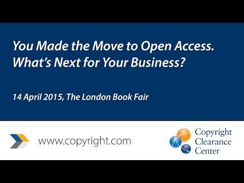 Open Access - London Book Fair Panel