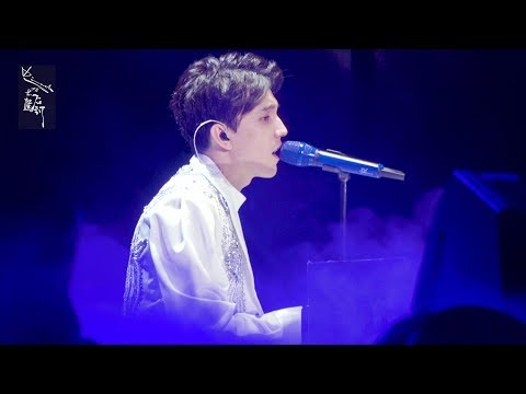 [Fancam] 霍尔兰  Kusni Korlan   Құсни Қорлан - 迪玛希Dimash Димаш ,19/05/2018 D-dynasty Concert@ Shenzhen