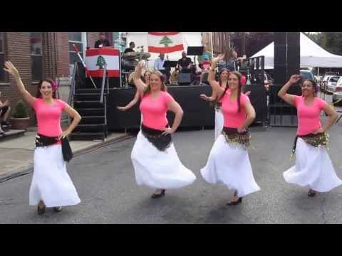 Alwaan Debke Group performs at St. Maron's Lebanese Festival Philadelphia, PA