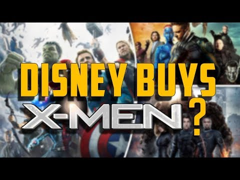 DISNEY BUYS X-MEN? - Movie Podcast