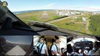 Hahn Air ULTIMATE COCKPIT MOVIE 2 / 3 MULTICAM! Full ATC! To Reykjavik [AirClips full flight series]