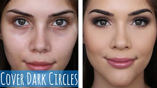 How to Cover Dark Circles and Stop Under Eye Creasing!