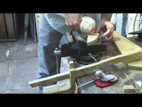 DIY wooden sword [scimitar]