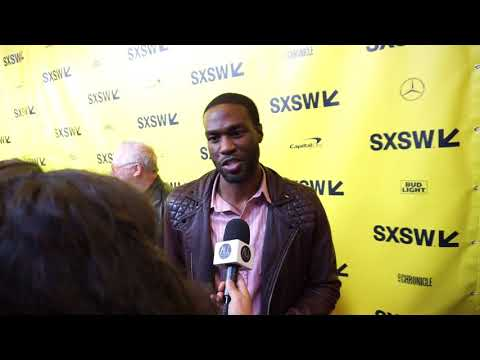 "Yahya Abdul-Mateen II talks ""Boundaries"" at SXSW streaming vf"