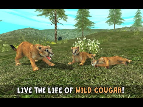 #Wild Cougar Simulator 3D - By Turbo Rocket Games Simulation - iTunes/Google Play