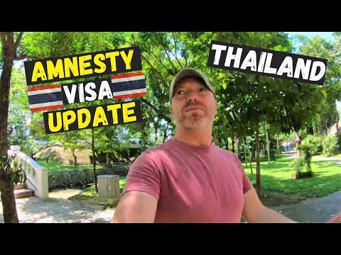 Amnesty Thailand Visa - Extension Update