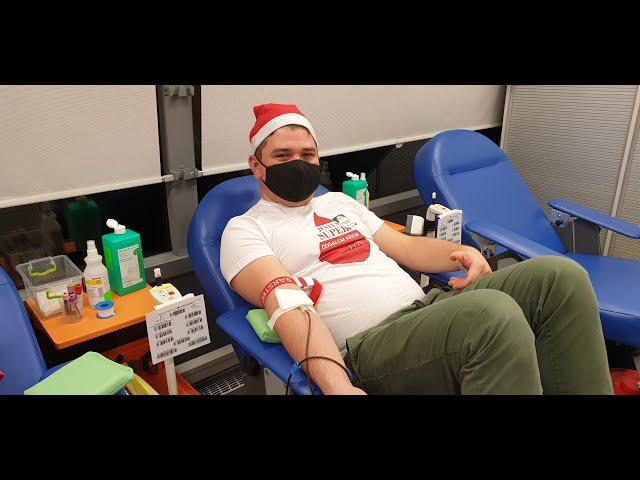 Podaruj innym życie na Mikołaja - zimowa edycja zbiórki krwi w Zbydniowie