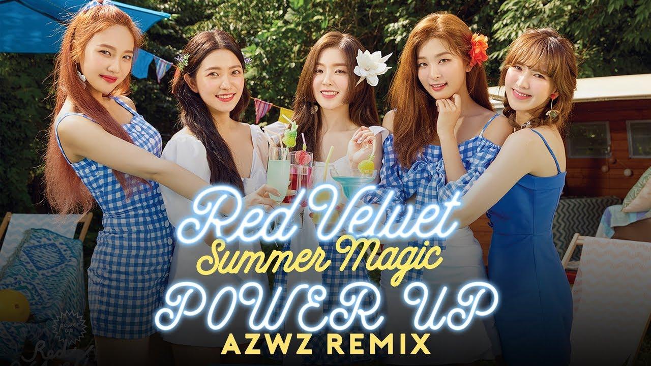 Red Velvet 레드벨벳 Power Up Azwz Remix Youtube