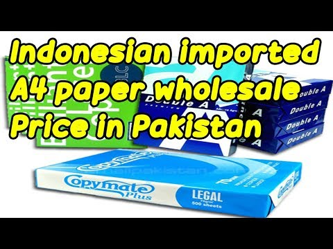 Indonesian imported wholesale A4 paper ream|Buy BEST Quality Printer Paper Online@Price in Pakistan