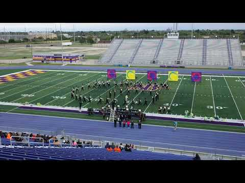 Edcouch Elsa High School Marching Band at the San Benito Marching Band Festival 2019