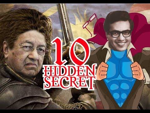 10 HIDDEN SECRET OF TUN MAHATHIR