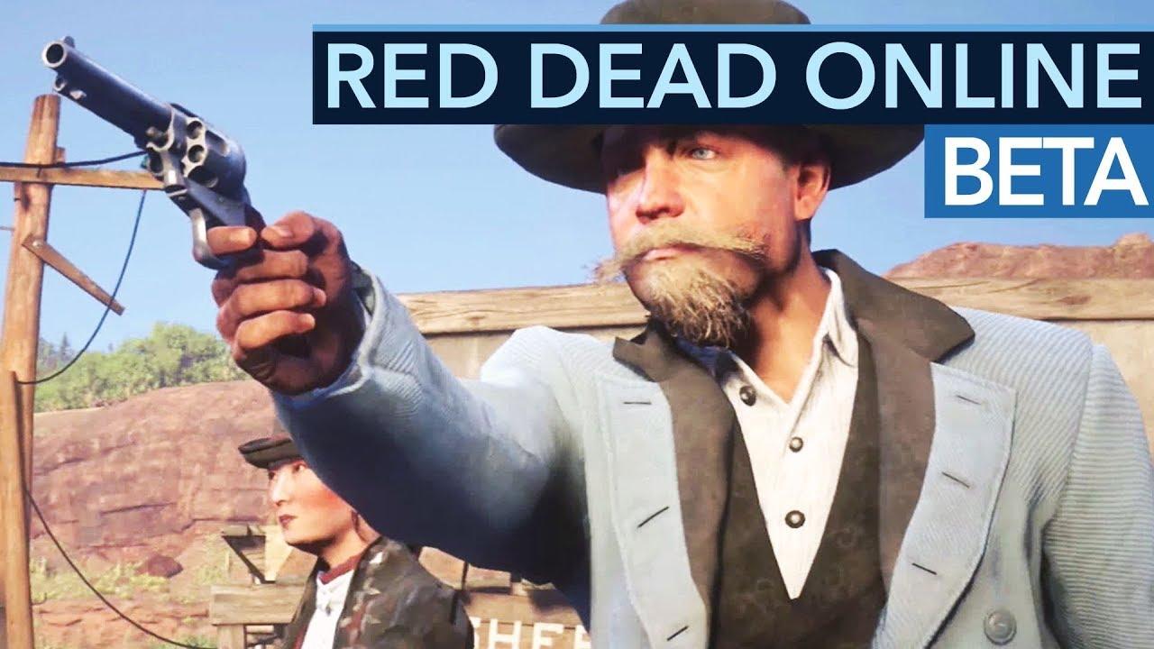 Beta-Start von Red Dead Online - Multiplayer ohne GTA-Fail