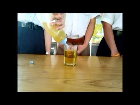 การทดลองวิทยาศาสตร์ - แก้วล่องหน
