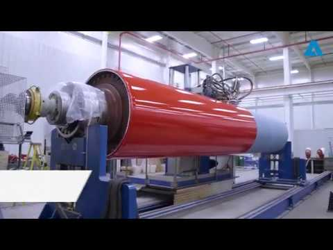 ANDRITZ Fabrics and Rolls:  Premium Performance Rolls Technology