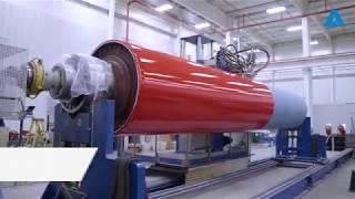 ANDRITZ Fabrics and Rolls:  Premium Performance Rolls Technology