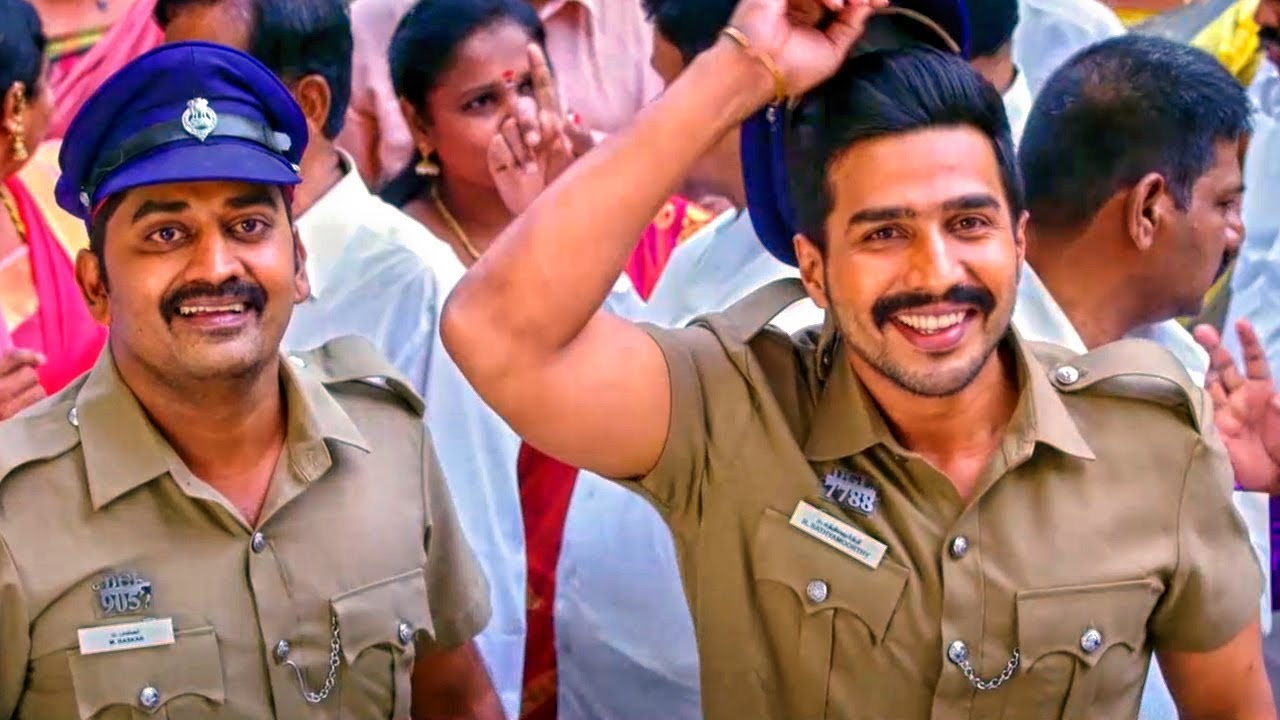 Download The Fighterman Singham 2 Best Comedy Scene   Vishnu Vishal Best Comedy Scene