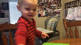 Samuel Says Color Names -Dillard Family Feb. 2019